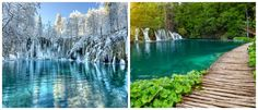 Listen to the soothing sound of the Plitvice Lakes waterfalls in Croatia