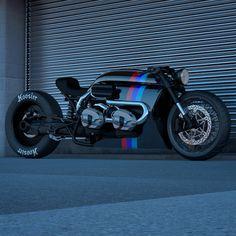 Bike Bmw, Cafe Bike, Cafe Racer Bikes, Cafe Racer Motorcycle, Concept Motorcycles, Cool Motorcycles, Vespa Scooter, Side Car, Bobber Custom