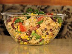 Sałatka bez majonezu - Przepisy kulinarne - Sałatki Potato Salad, Grains, Rice, Potatoes, Ethnic Recipes, Food, Diet, Salads, Potato