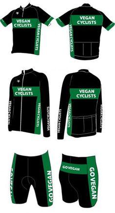 Vegan Cyclists Kit Design
