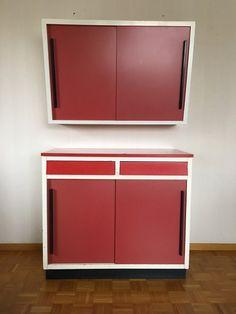 Küchenbuffet 60er Jahre Credenza, Vintage Furniture, Cabinet, Storage, Home Decor, Clothes Stand, Purse Storage, Decoration Home, Room Decor