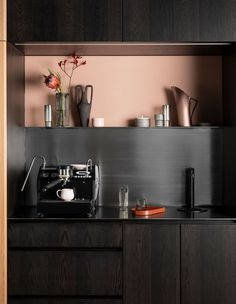 Principals Of Design, Floating Table, Timber Table, Steel Shelving, Kitchen Views, The New Wave, Kitchen Models, Best Kitchen Designs, The Design Files
