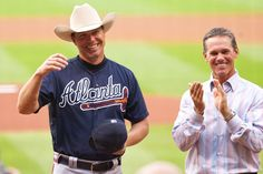 Chipper Jones and Craig Biggio - 2012