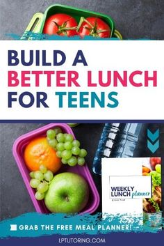Is your teen exhausted and hungry by 3? Do they skip lunch altogether? Learn how to help your teen create a healthy lunch each and every day! Don't forget to download the FREE lunch planner!   #schoollunch #backtoschool via @lptutoring Protein Lunch, Lean Protein, Raising Teenagers, Parenting Teenagers, Hacks, Eat Breakfast, Exhausted, Lunch Recipes, Tips