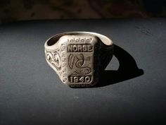Original SS ring Nord Division http://www.vantiques.nl