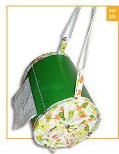 Tragbarer Toilettenpapier - Halter, ideal beim Camping! Gute Anleitung zum Nähen