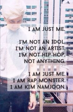 I love this KIM NAMJOON FIGHTING ❤️