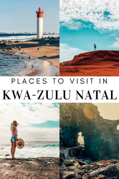 Places to visit in Kwa-Zulu Natal, South Africa. This includes the dolphin coast and the south coast of Kwa-Zulu Natal. Kwazulu Natal, Africa Travel, Dolphins, Warm Weather, South Africa, Things To Do, Places To Visit, Coast, African