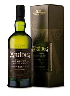 Ardbeg 10 yrs, 94/100pts/JL Nose: 25 Taste: 23 Finish: 23 Balance: 23