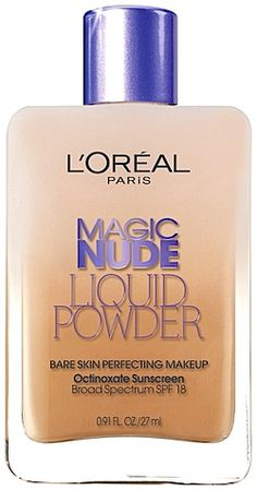Review, Swatches, Before/After Photos L'Oréal Paris Magic Nude Liquid Powder Makeup, Visible Lift CC Cream | BeautyStat.com