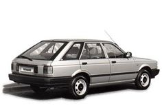 Nissan Sunny Estate1.5 Petrol. I had a lot of stories in this.
