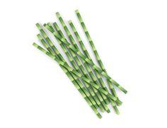 Paper Straws   Bamboo 144 Per Box
