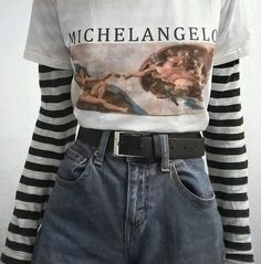 Vintage Looks: A Collection Of Amazing Vintage Outfits For Winter Edgy Outfits, Grunge Outfits, Grunge Fashion, 90s Fashion, Girl Outfits, Fashion Outfits, Summer Outfits, Fashion Black, Fashion Women