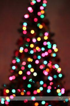 How to: Blurry Christmas Tree/Lights