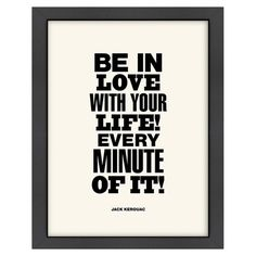 Found it at Wayfair - Love With Your Life Framed Art