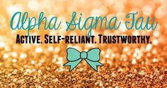 Alpha Sigma Tau Banner
