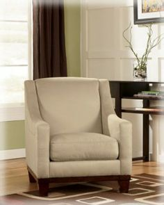 Ashley Furniture Signature DesignFusion Khaki Accent Chair