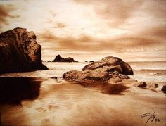 Coast Pyrography
