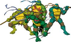 TMNT Roleplay (idea by kcrockett) | School of Dragons | How to ...