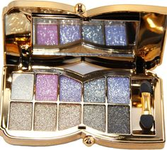 QzoneFire Womens 10 Colors Waterproof Make UP Glitter Eyeshadow Palette with Brush and Mirror Glitter Eyeshadow Palette, Eyebrow Makeup, Make Up, Note, Mirror, Amazon, Link, Colors, Image