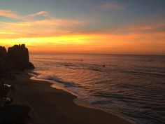 Sunrise at Grand Solmar Land's End Resort & Spa in Cabo.