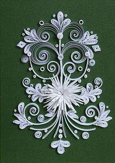 Bildergebnis für quilling lily of the valley