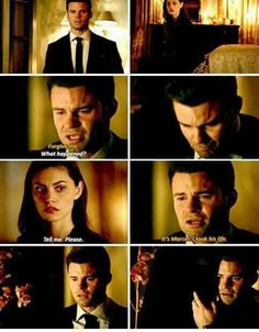 The Originals Elijah & Hayley The Mikaelsons, The Cw, The Originals Tv, Vampire Diaries The Originals, Hayley And Elijah, The Orignals, Original Vampire, Vampire Dairies, Movie Couples