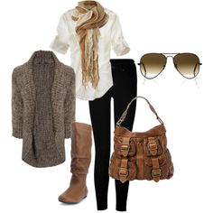 """""""easy neutrals"""" by bradierenee on Polyvore"""