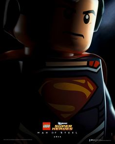 Lego Man of Steel Poster!