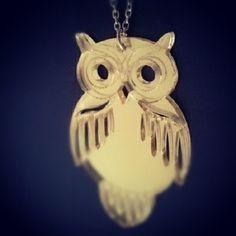 Joy owl necklace  #owl #owls #necklace #pendant #jewellery