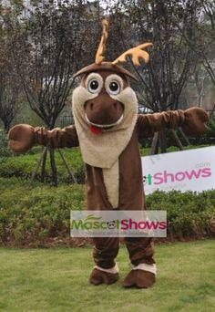 メリクリスマス!トナカイ着ぐるみ トナカイ 鹿着ぐるみhttp://www.mascotshows.jp/product/tonakai-kigurumi.html