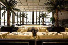 Dining Rooms - The Four Seasons Restaurant NYC