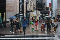 Rain in the City by Vincent Giarrano