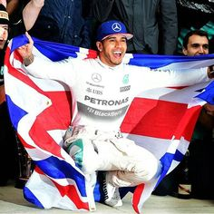"Lewis Hamilton on Instagram: ""Love you my Champ!    #LewisHamilton #TeamLH #MercedesAMGf1 #F1 #TheWon #WorldChampion2015"""
