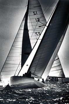 Enterprise during the 1977 America's Cup defender trials