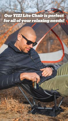 Camping Furniture, Camping Chairs, Tent Camping, Camping Gear, Camping Checklist, Camping Equipment, Be Perfect, Pilot, Mens Sunglasses
