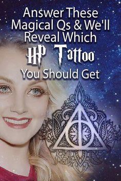 A quiz that will determine which Harry Potter tattoo is just right for you! Over twenty magical questions will figure it out for you in no time!