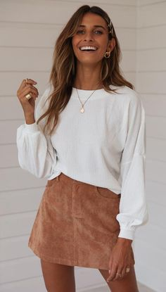 This Week's New – Mura Boutique Fall Winter Outfits, Autumn Winter Fashion, Winter Outfits With Skirts, Winter Ootd, New Mode, Thanksgiving Outfit Women, Cute Casual Outfits, White Girl Outfits, Mode Outfits