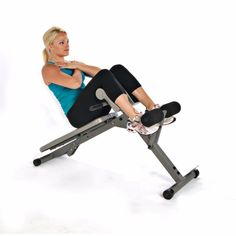 Abdominal Bench Abs Home Gym Fitness Adjustable Hyperextension Abs Crunch