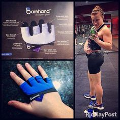 Got to use my NEW minimalist #barehand gloves today from http://rawwgear.com/barehand-gloves I hate wearing gloves but I have to (nobody likes a massagetherapist with calluses) and these things felt INCREDIBLE actually I completely forgot they were on my hands the entire workout!! Check them out I HIGHLY recommend getting yourself a pair