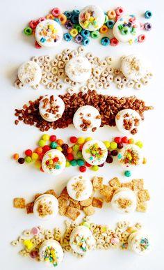 Macarrones franceses con el cereal de tu preferencia. Ya puedes morir en paz.   12 Recetas que puedes hacer con el cereal que tienes en casa