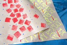 Como fazer #estamparia com #carimbo em #tecido #papel e na #decoracao.  #artesanato #craft #diy #passoapasso