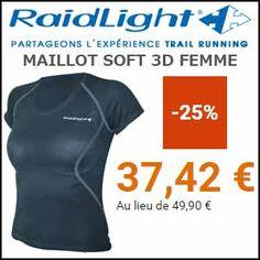 #missbonreduction; 25% de remise sur le MAILLOT SOFT 3D FEMME.http://www.miss-bon-reduction.fr//details-bon-reduction-Raidlight-i855476-c1835372.html