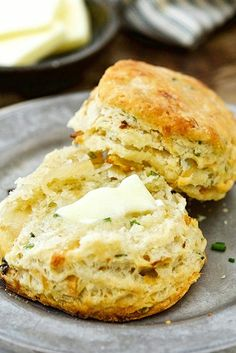 Caramelized Onion Sourdough Biscuits - A sweet and salty biscuit with just a slight sourdough tang. Sourdough Biscuits, Sourdough Recipes, Bread Recipes, Cooking Recipes, Starter Recipes, Recipe For Onion Bread, Chicken Recipes, Biscuit Recipe, Recipe King