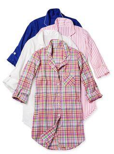 Cotton Mayfair Sleepshirt - Victoria's Secret