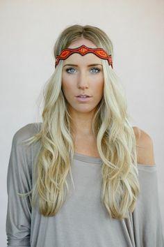 Diamond Sunrise - Handmade Beaded Headband