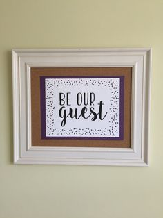 Be Our Guest Printable by 2BsCraftsandDesigns on Etsy $13 #home #decor #guest