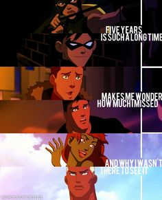 Young Justice Photo: Missing the orginals Young Justice Season 3, Young Justice League, Wally West Young Justice, Young Justice Funny, Young Justice Robin, Percy Jackson, Dc Comics, Kid Flash, Dc Memes