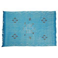 """Moroccan Cactus Silk Rug, 4'7"""" x 3' #huntersalley"""