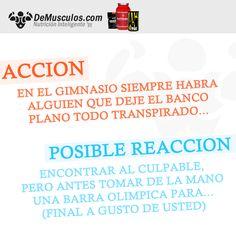 Acción y Reacción: 001